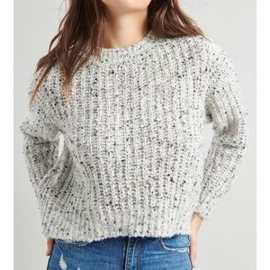 GARAGE Speckle oversized Knitted Sweater